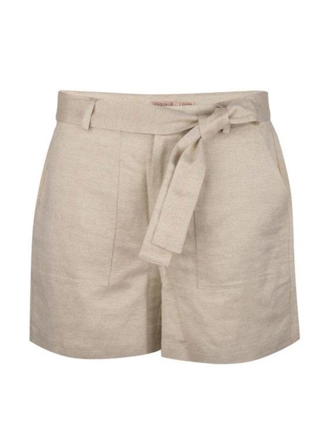 Esqualo Shorts Linen Metalic Beige HS21.17206