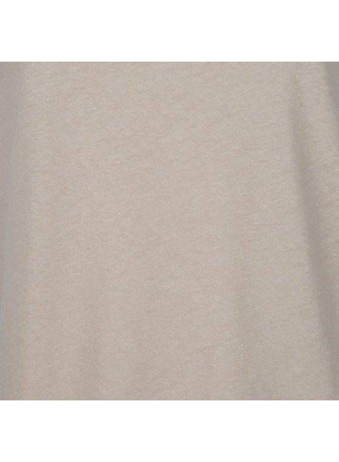 Esqualo Singlet flat piping Sand SP21.30002