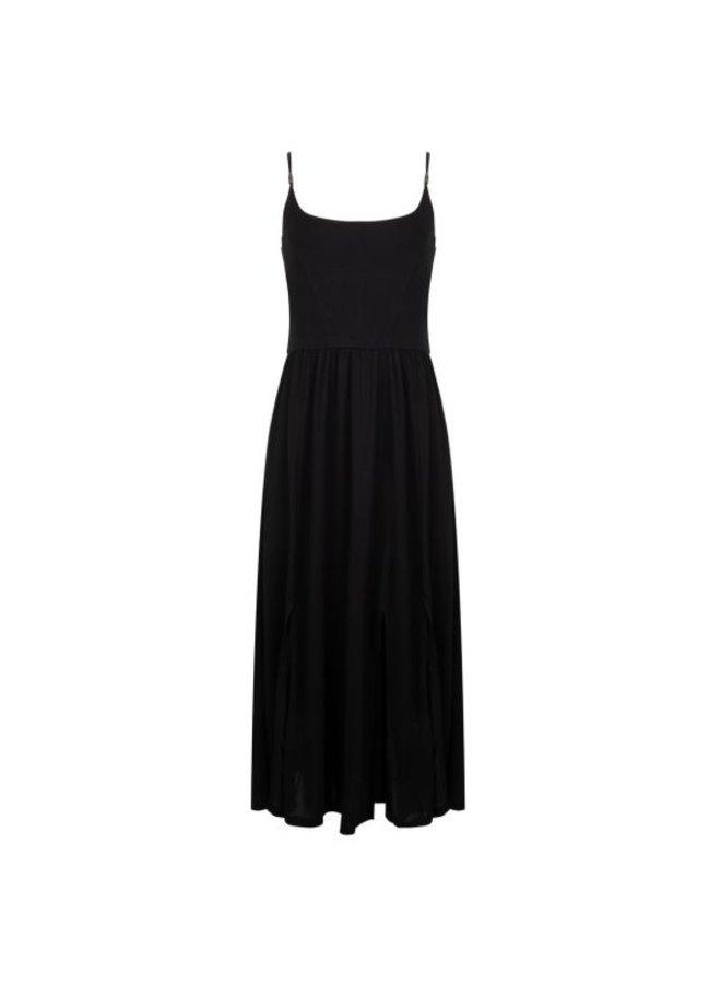 Esqualo Dress Beach Long Black HS21.30212