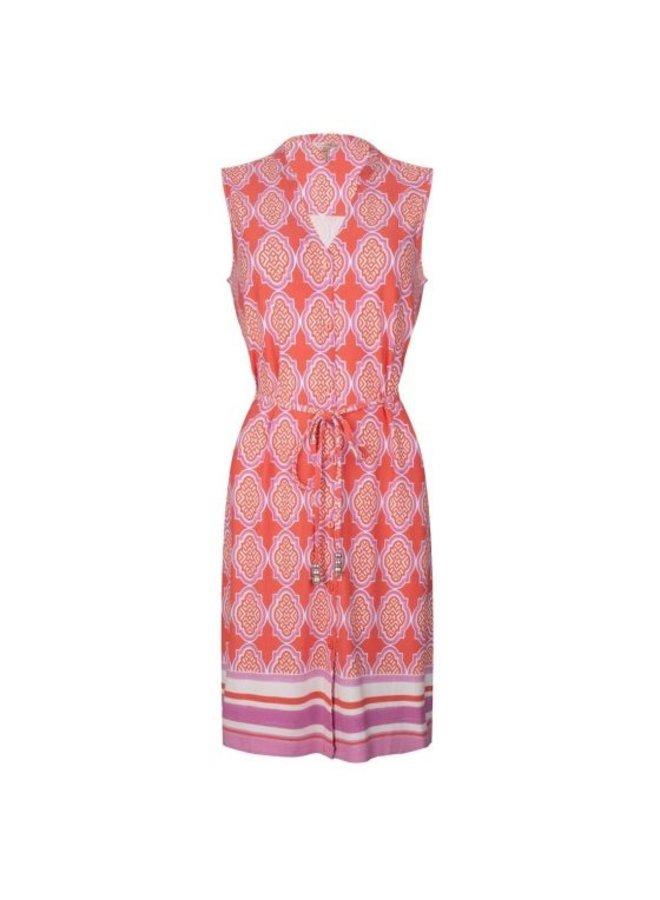 Esqualo Dress cabana slv/lss print HS21.30201