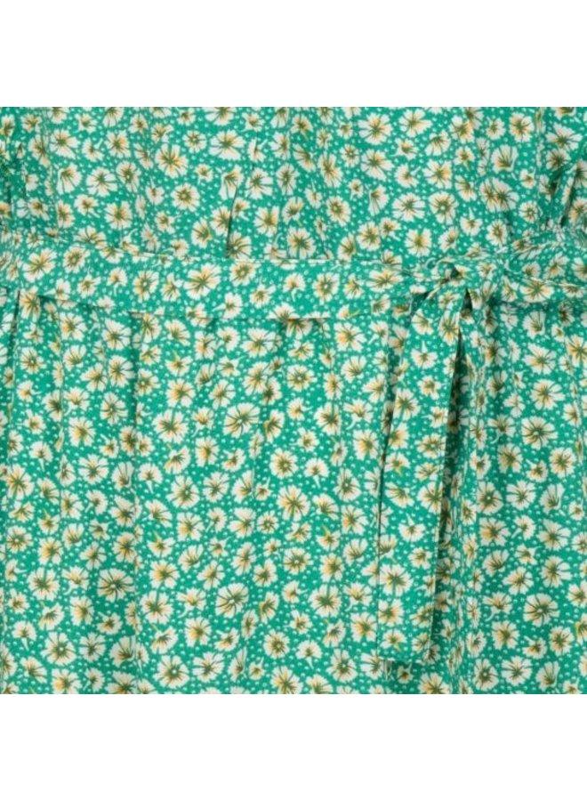 Esqualo Dress ruffles fiels flower print HS21.14215