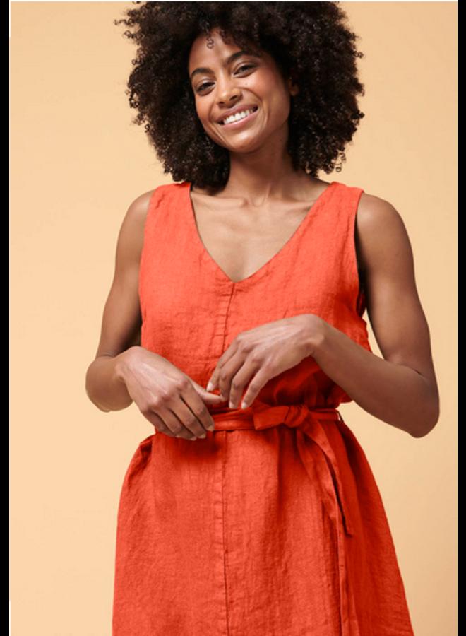 La Fee Nelya Dress Rouge Orange FA-RO-Nelya