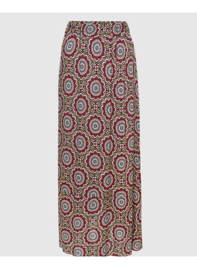 Voyar la Rue Savannah gypsy skirt roze print 2102.089