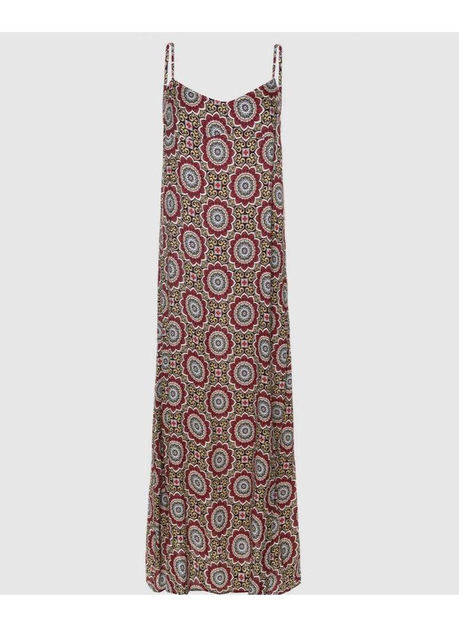 Voyar la Rue Didri gypsy dress roze print 2102.068