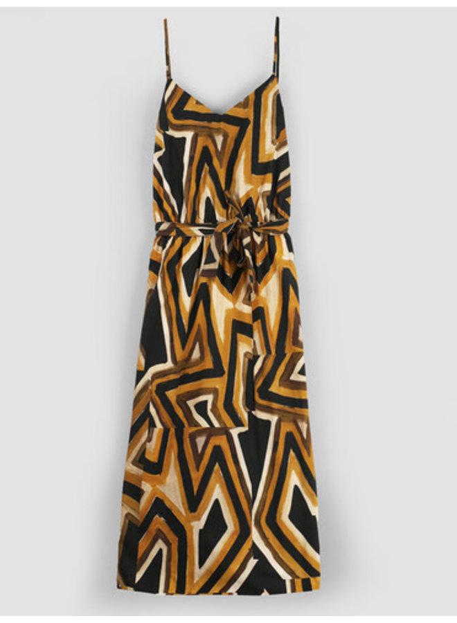 La Fee FA-RO-Laurice jurk Moutarde