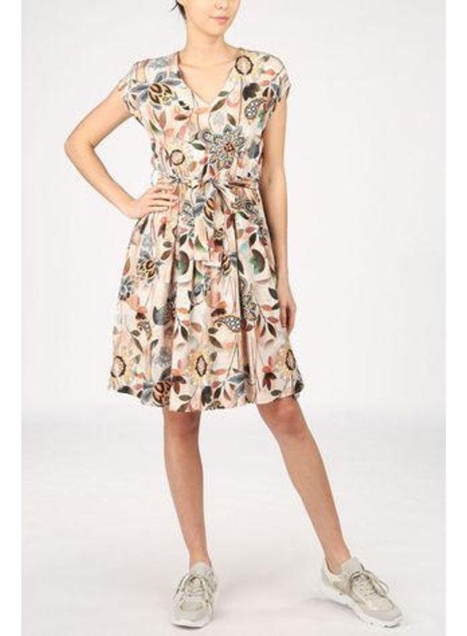 La Fee FA-RO-Lalaina jurk Multicolor