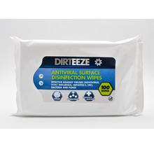 Dirteeze sanitising wipes - 100pcs.