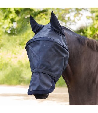 Premium Space Fly Bonnet Mask with Ear Protection Black