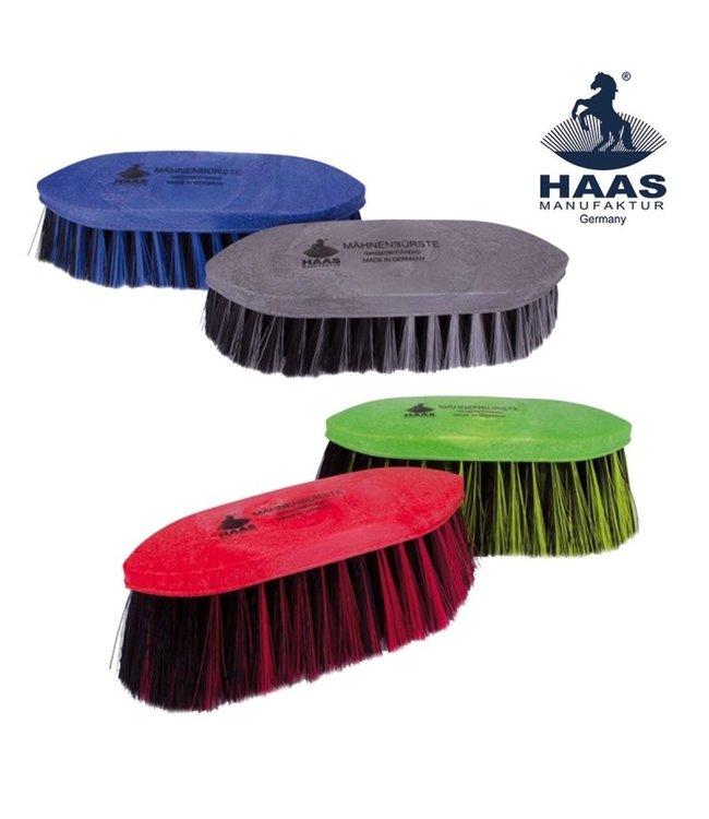 Haas Mane & Tail Brush (Red/Black)