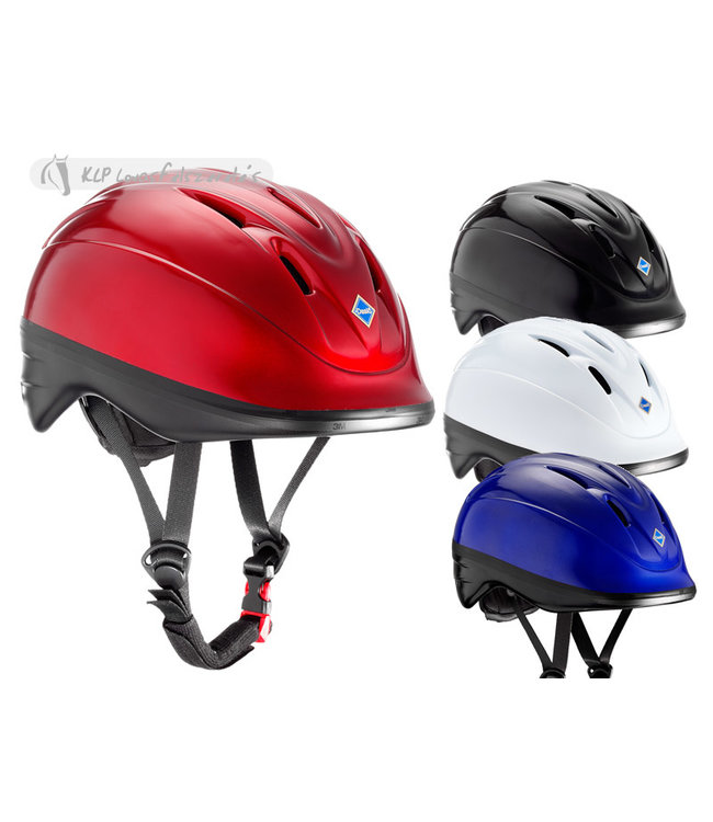 DASLO CLASSIC BLACK CAP XS with rear adjustable sizing system