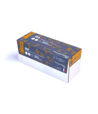 POLYSEM INSEMINATION GLOVES (100) LARGE Orange