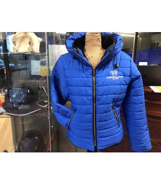 RISING ROYAL BLUE QUILTED JACKET XL