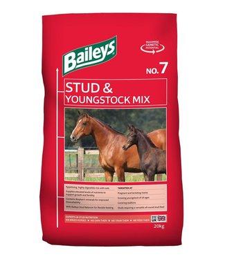 Baileys BAILEYS NO.7 STUD & YOUNG STOCK MIX, 20 kg