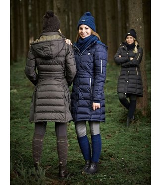 Covalliero COVALLIERO LADIES QUILTED LONG COAT