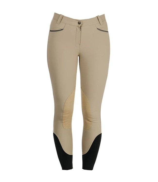 HORSEWARE LADIES WOVEN SELF-SEAT COMPETITION BREECHES