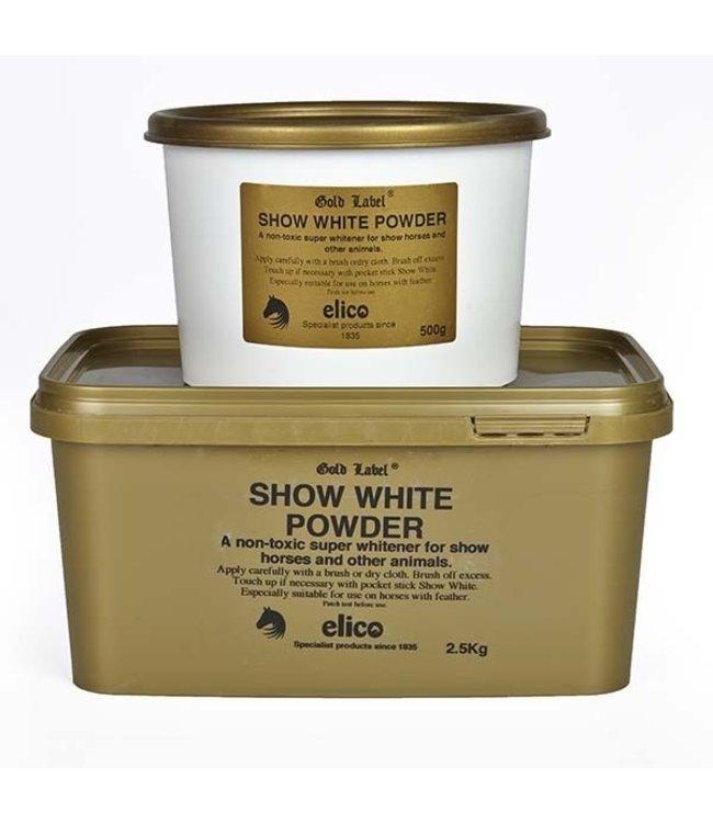 ELICO 'GOLD LABEL' SHOW WHITE POWDER 500G