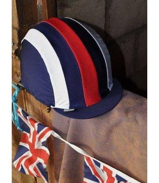 Capz CAPZ LYCRA CAP COVER Red, White & Blue