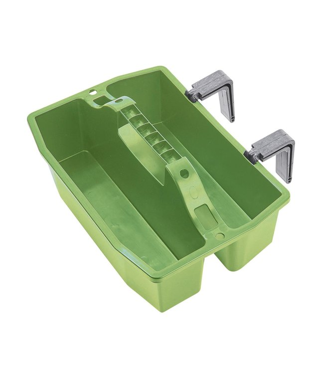 BUSSE GROOMING BOX 'BASIC', with hooks, Green