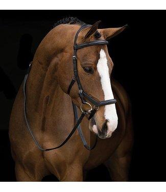 Rambo HORSEWARE 'RAMBO' COMPETITION BRIDLE Pony Black