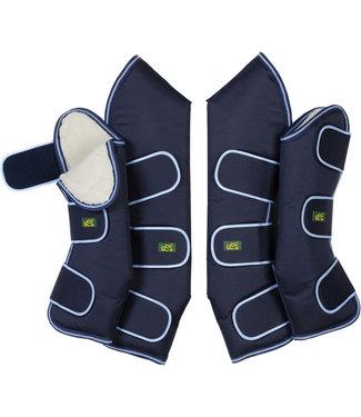 USG USG WARM TRAVELLING BOOTS (x 4) Large Blue