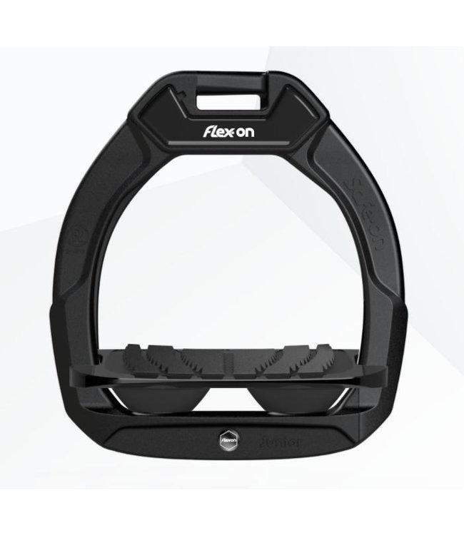 FLEXON SAFE-ON JUNIOR STIRRUPS, IG (Incline Grip)