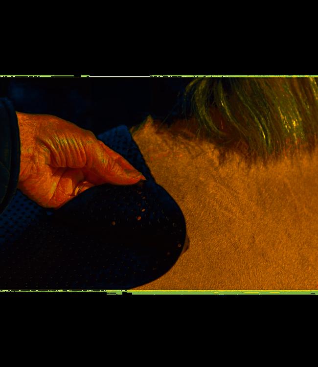 ACAVALLO ANTI-SLIP LIGHT-WEIGHT GEL PAD Black