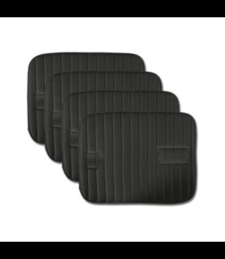 Velcro Bandage Pad - Set of 4 Black