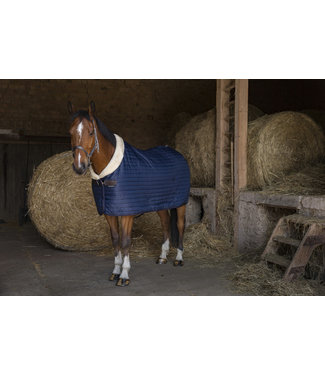 "EQUITHÈME EQUITHÈME ""Teddy"" STABLE RUG - Synthetic Sheepskin Lined"