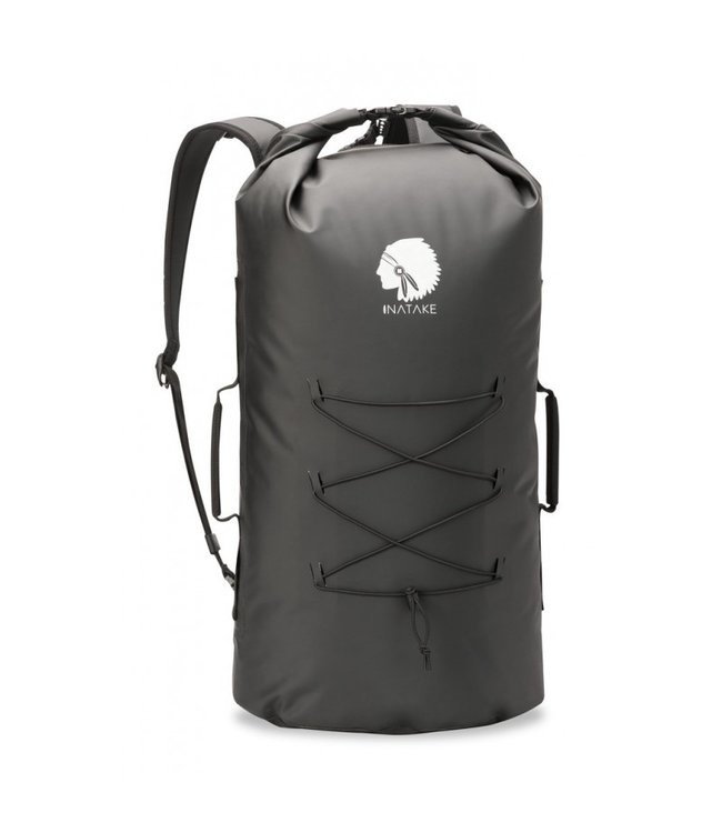 INATAKE WATERPROOF BACKPACK Black, Size : 55 x 25 cm