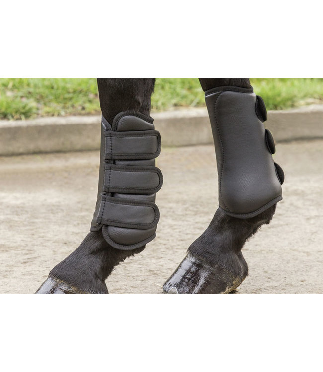 BOOTS WITH TENDON PROTECTION, Black