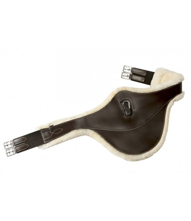"""NORTON PRO """"SHEEPSKIN LINED"""" BELLY PROTECTOR GIRTH"""