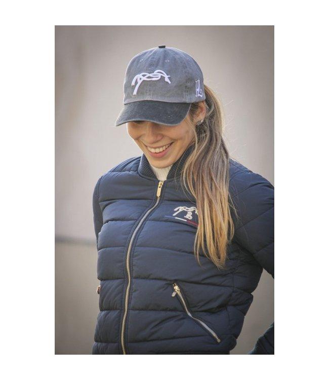 PENELOPE 'VINTAGE'  BASEBALL CAP, Grey