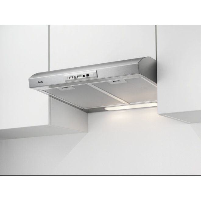 AEG DUB2610W Afzuigkap Onderbouw Zilver