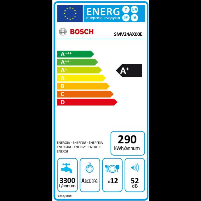 Bosch SMV24AX00E Inbouw Vaatwasser volledig integreerbaar