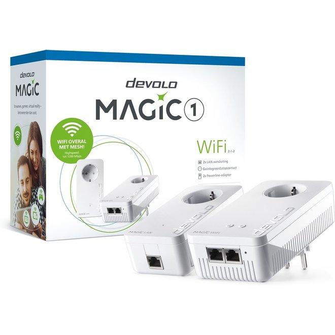 Devolo 8364 Magic 1 WiFi Starterkit 1200 Mbps 2 stuks