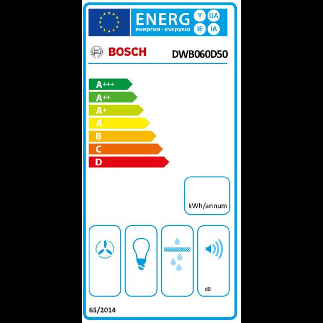 Bosch DWB060D50 - Wandschouw afzuigkap
