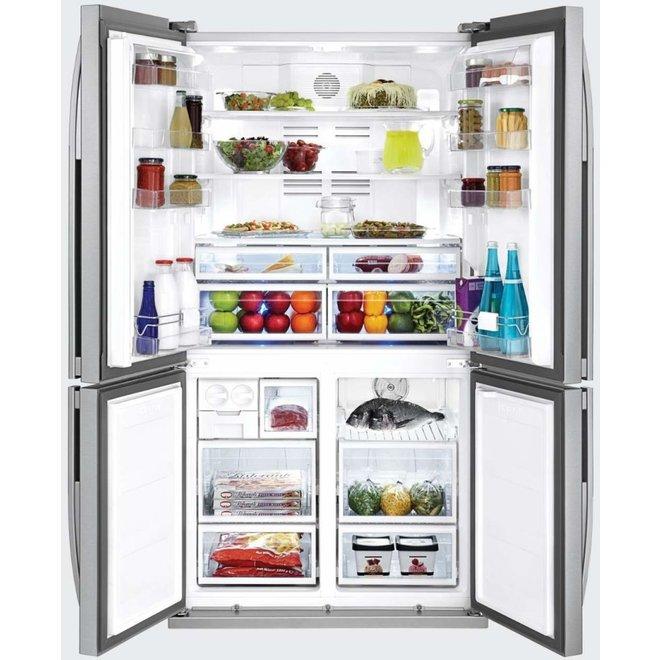 Beko GNE114612 FX Amerikaanse koelkast