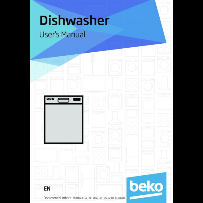 Beko DFN28422W vaatwasser vrijstaand A++ 43dB