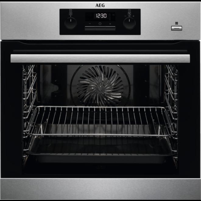 AEG BPB351020M - Inbouw oven - Stoomfunctie
