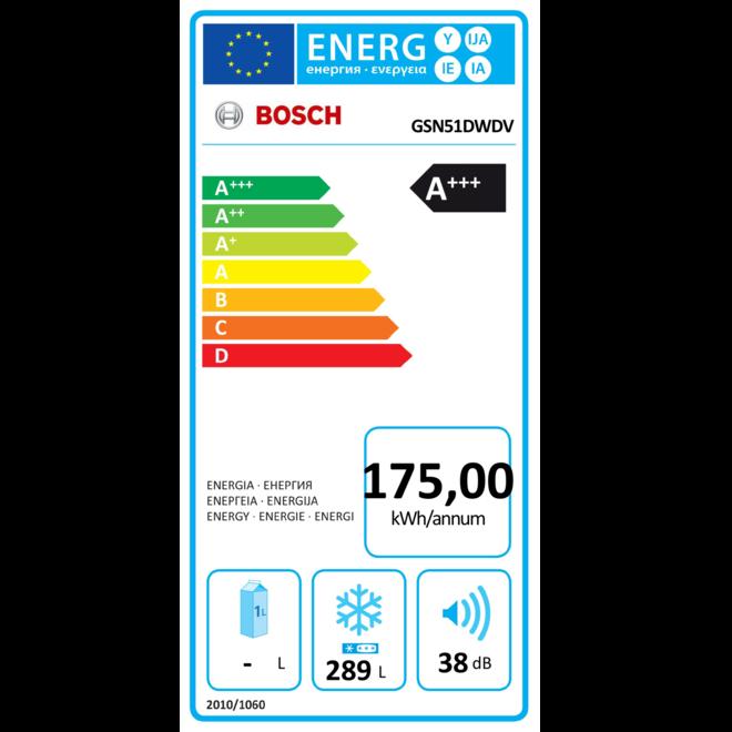 Bosch GSN51DWDV Vriezer