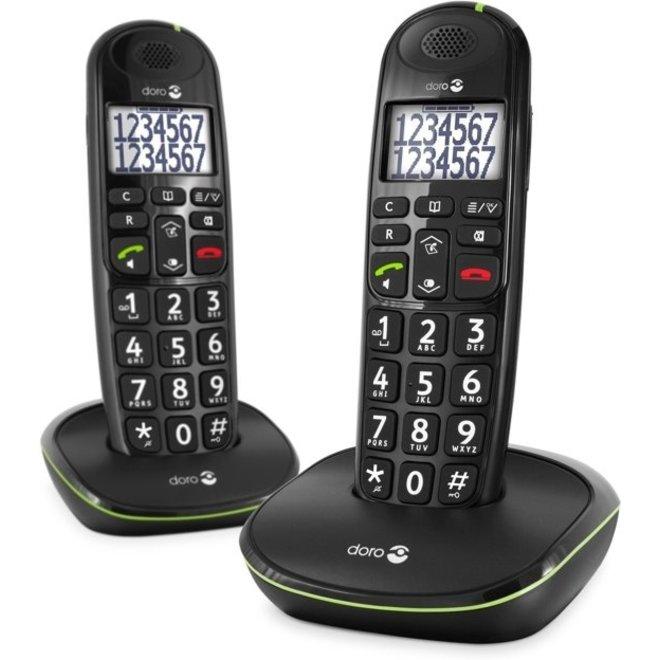 Doro Phone Easy 110 Duo Zwart Dect telefoon
