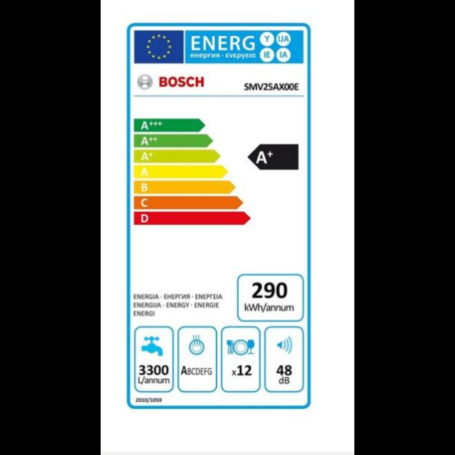Bosch SMV24AX02E Inbouw Vaatwasser volledig integreerbaar