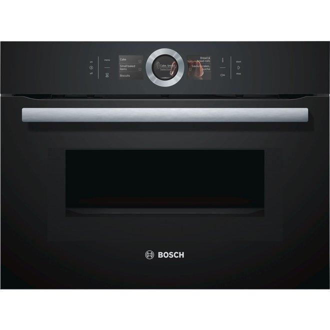 Bosch CMG676BB1 Inbouw oven met magnetron 45cm