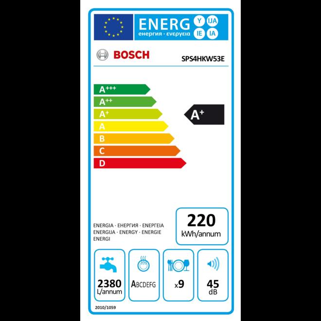 Bosch SPS4HKW53E vrijstaande vaatwasser