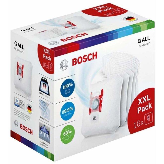 Bosch BBZ16GALL 16 stuks Stofzuigerzakken