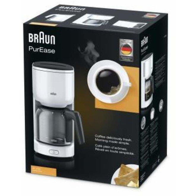 Braun KF3120 WH koffiezetter