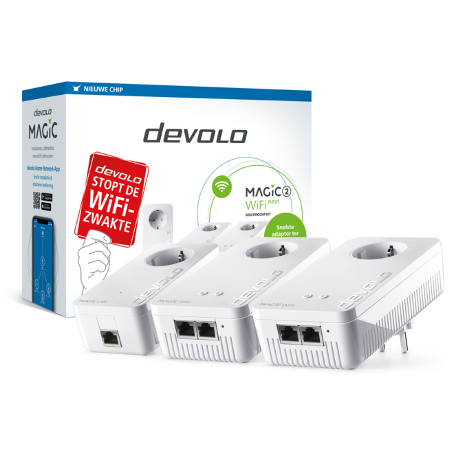 Devolo 8630 Magic 2 Next WiFi 2400Mbps 3 stuks