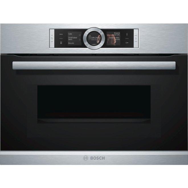 Bosch CMG636BS2 Inbouw oven met magnetron 45cm