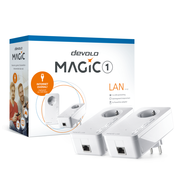 Devolo 8300 Magic 1 LAN Starter Kit Powerline