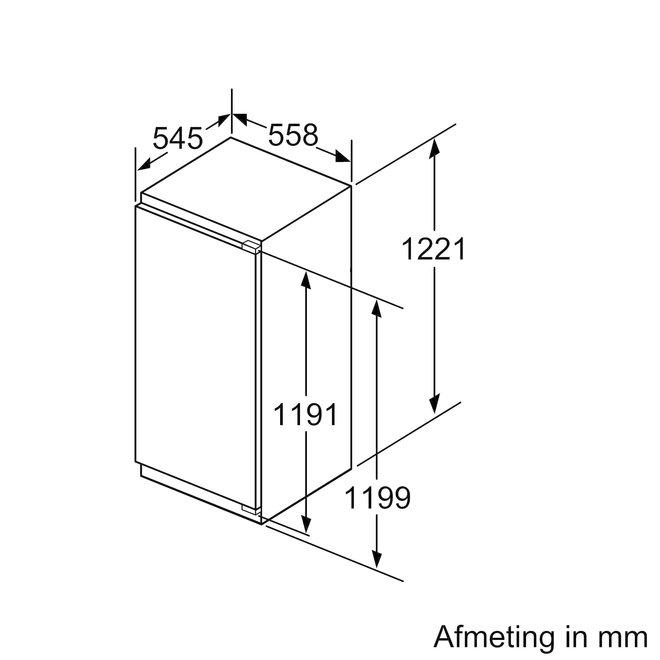 Siemens GI41NACE0 Inbouw vrieskast